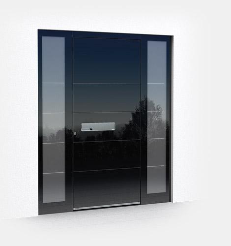 Edle Glas Eingangstür - Volk Bauelemente
