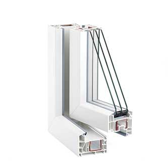Fensterproifil Rehau - Eurodesign 86 Plus