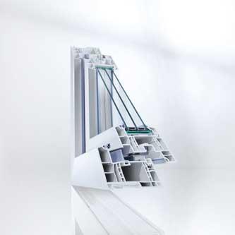 Geneo - Fensterprofil von Rehau