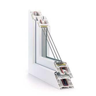 Fensterprofil Synego Rehau